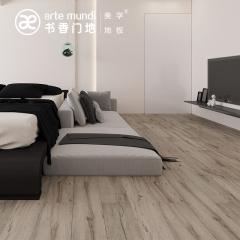 强化地板-现代风格美秀01-书香门第地板