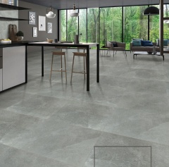 抛釉砖-质感岩石凯撒石深灰--罗马利奥瓷砖
