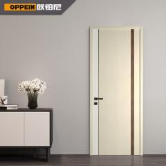 卧室门-多莫现代意式-欧铂尼木门